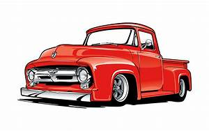 1953 To 1955 Ford F-100 Trucks