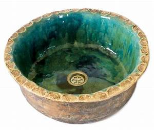 Bemalte Keramik Waschbecken : t rkis waschbecken aus keramik ~ Markanthonyermac.com Haus und Dekorationen