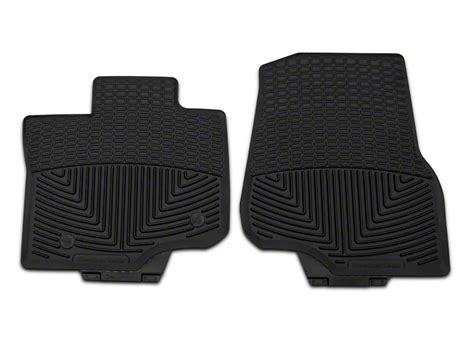 weathertech floor mats f150 supercrew weathertech f 150 all weather front rubber floor mats black w345 15 18 f 150 supercab