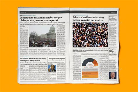 indesign newspaper template indesign newspaper template 5 columns by sacvand graphicriver