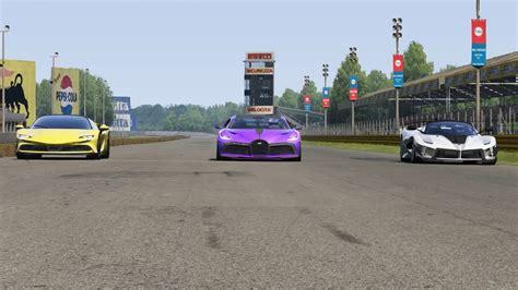 Now, the interior doesn't change in the sense of shape or form. Bugatti Divo vs Ferrari SF90 Stradale vs Ferrari FXX K Evo at Monza Full Course - YouTube