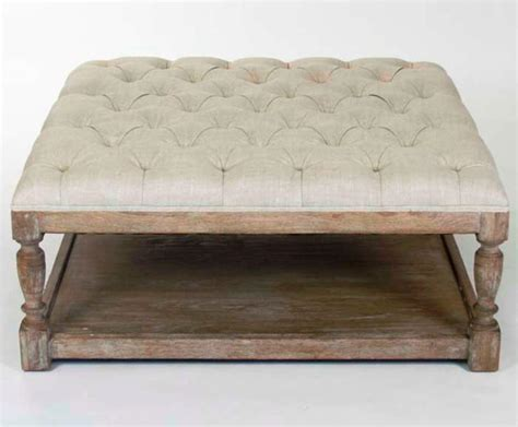 large square tufted ottoman coffee table ottoman tufted coffee table ottoman garden