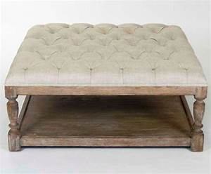 Coffee Table Breathtaking Tufted Ottoman Coffee Table