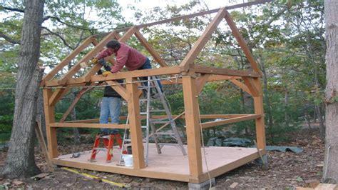 Timber Frame Cottage Plans Small Timber Frame Cabin Plans