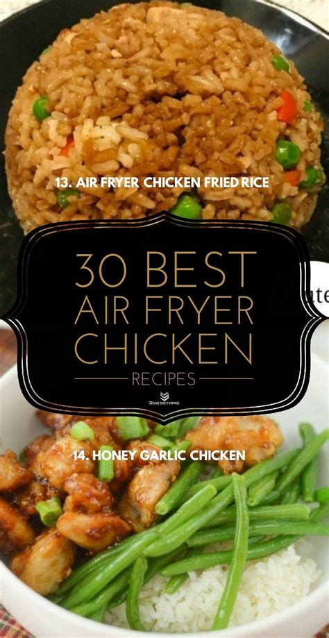 air fryer chicken recipes oven teriyaki healthy thighs instant pot fried