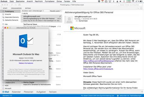 Office 365 Outlook On Mac by Abonnenten Office 365 Bekommen Neue Outlook Version