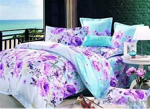 Fresh, Colorful, Floral, Active, Print, 4, Piece, Cotton