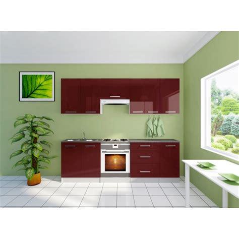 chambre gris et aubergine cuisine équipée de 2m40 davina design avec ses portes