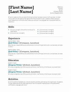 simple resume tm cute simple resume template free free With free cute resume templates