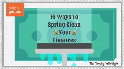 Spring Clean Finances Printable Expenses Ways Thetrophywifestyle