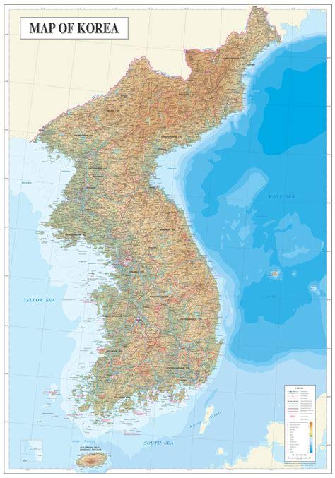 maps  south korea map library maps   world