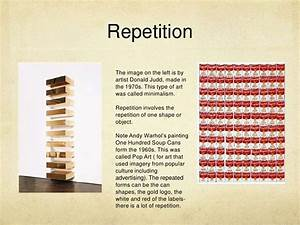 Repetition The image on the