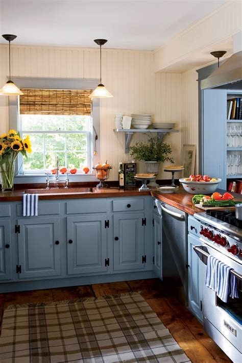 colors for a country kitchen best 25 blue country kitchen ideas on modern 8262