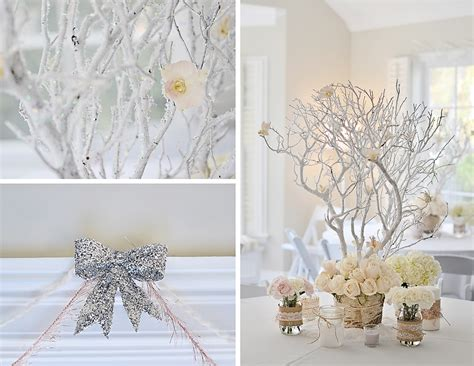 cool winter wonderland table decorations table
