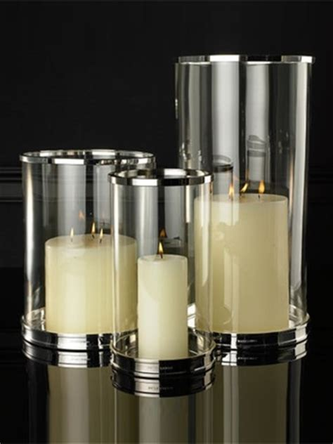 silver hurricane candle holders silver modern hurricane contemporary candleholders