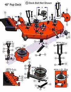 07pup48dk - 2007 Pup 48 Deck Assembly
