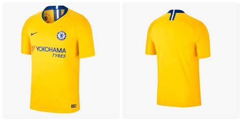 Chelsea Yellow chelsea bring back yellow away kit for 2018 19 premier