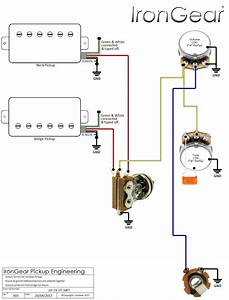 Dean Guitar Wiring Electric Guitar Pickup Wiring Diagram