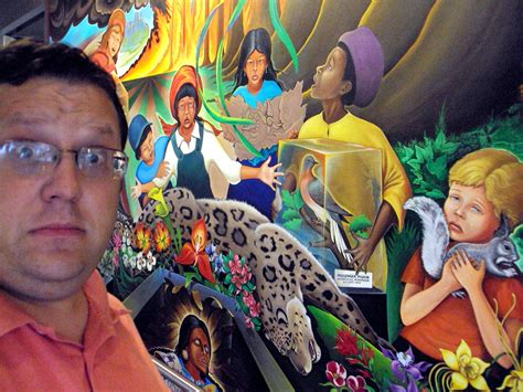 Denver International Airport Murals Meaning by Leo Tanguma Images