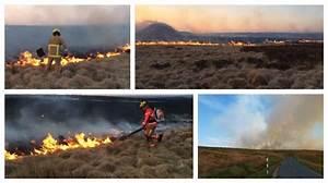 Watch Preston Wildfire Specialists Fighting Moorland Fires