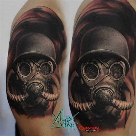 Skull Gas Mask Meaning