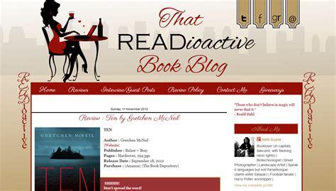 Custom Blog Design Readioactive Book Web Studio