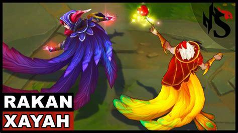 All Xayah And Rakan Skins Spotlight (league Of Legends