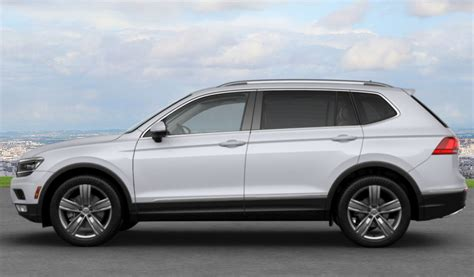 volkswagen tiguan white 2018 volkswagen tiguan exterior color options