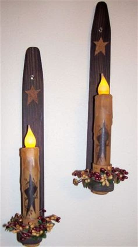 primitive wall sconces 1000 images about primitive candle holders on