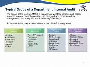 What to expect in an internal audit or investigation ppt for Internal audit scope template