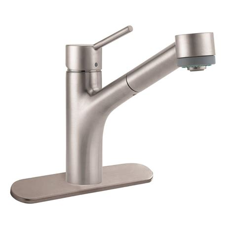 hansgrohe talis kitchen faucet hansgrohe talis s single handle pull out sprayer kitchen