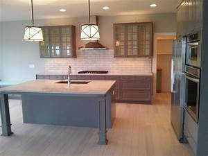 Ikea Kitchen Installation Kitchen Contemporary With