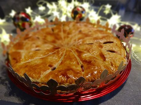 ma galette des rois frangipane au chocolat  framboises