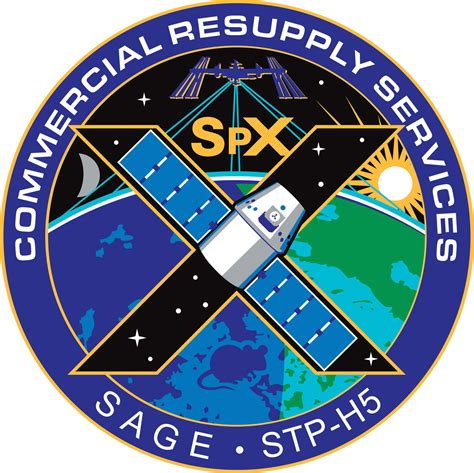 NASA patch for the CRS SpX-10 Mission (NOT the SpaceX ...