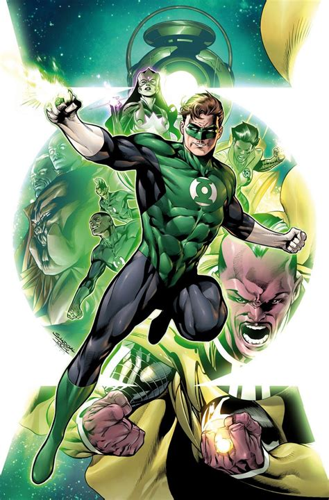 science dc comics look hal and the green lantern corps 1