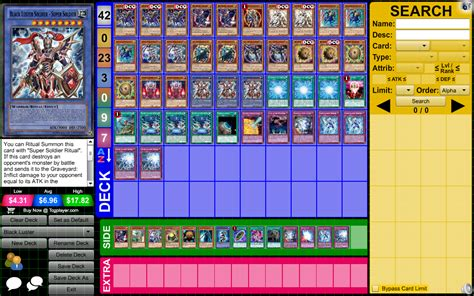 Yugioh Banish Deck 2015 by Yu Gi Oh Archetype Profile Deck Black Luster By