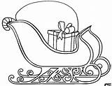 Sled Coloring Pages Preschool Crafts Worksheets Toddler sketch template