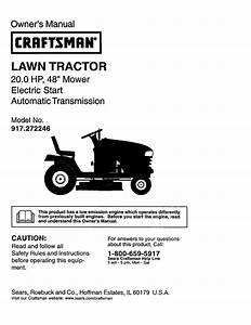 Craftsman Yt 3000 42 Owners Manual