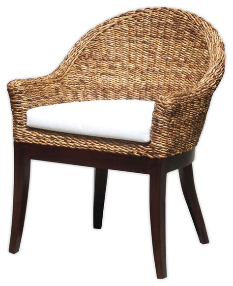 arm chair with cushion tropical accent chairs