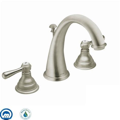 faucetcom tbn  brushed nickel  moen