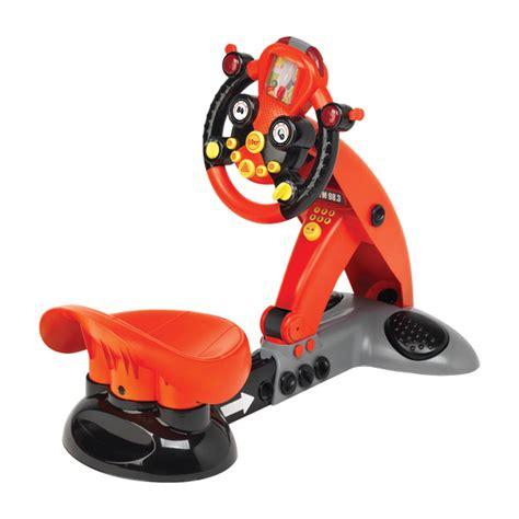 siege simulateur de conduite volant racing simulateur logitoys king jouet porteurs