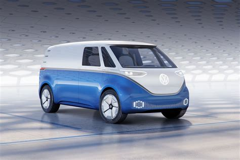 Volkswagen I.d. Buzz Cargo Van Is A High-tech Take On