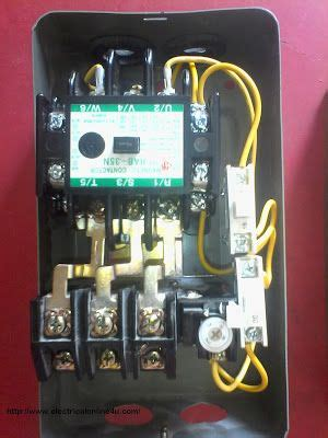 how to wire contactor and relay contactor wiring diagram electrical tutorials