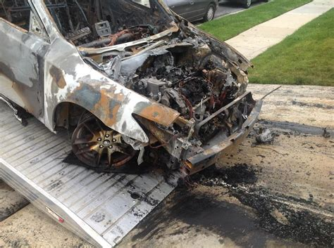 Nissan Maxima Electrical Fire Complaints