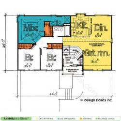 split entry floor plans split entry house plans design basics