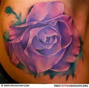 33 best Violet Purple Rose Tattoo images on Pinterest ...