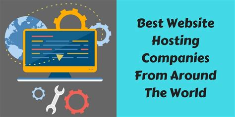 Best Website Hosting Best Website Hosting Companies From Around The World 2018