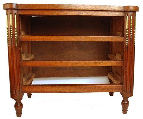 bureau commode antique nineteenth century miniature mahogany