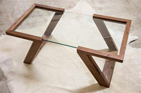table bois verre comment faire une basse en mobilier design 2 de salon et 4 ensemble repas