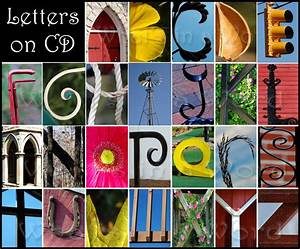 nature alphabet the aphabet with nature pinterest With letters nature photography art